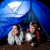 LED camping light & emergency lantern with reading lamp