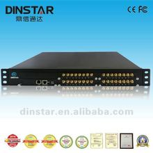 32 GSM channels voip adapter support SMS