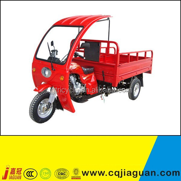 2 Ton Single Axle Farm Trailer Cargo Tricycle
