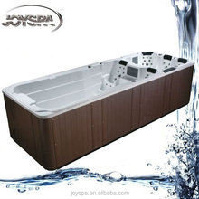 DISCOUNT Dual Zone Swim Spa JY8601 for 6 Person Outdoor Fibergalss Swimming Pool