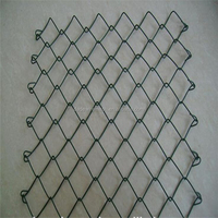 2016 Cheap Garden Used Galvanized and PVC Chain Link Fence For Sale