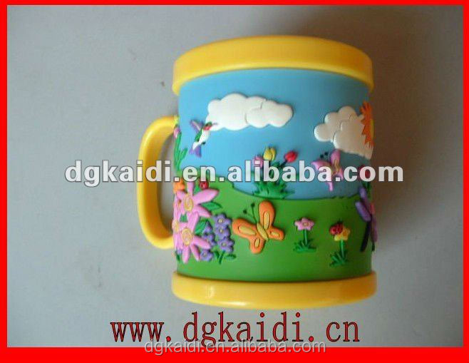 Fashionable promotional gift 3d cartoon mugs