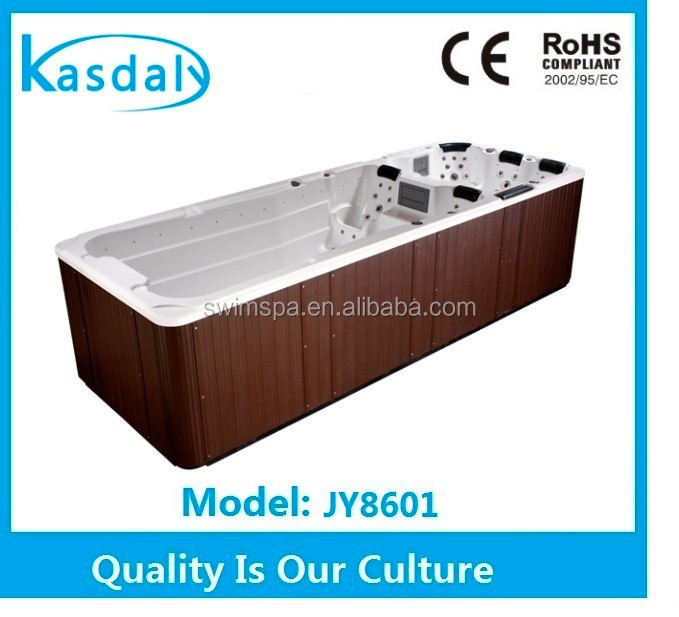 large air jet acrylic swim spa outdoor usa balboa system massage hot tub with tv