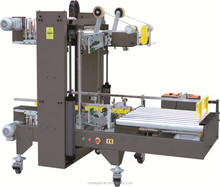 Fully automatic side and corner carton taper sealer machine