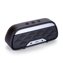 2018 New Arrival Leather Mini Portable Wireless Speaker For <strong>Mobile</strong> <strong>Phone</strong>