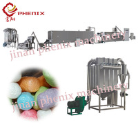 modified corn starch extruder making machine plant