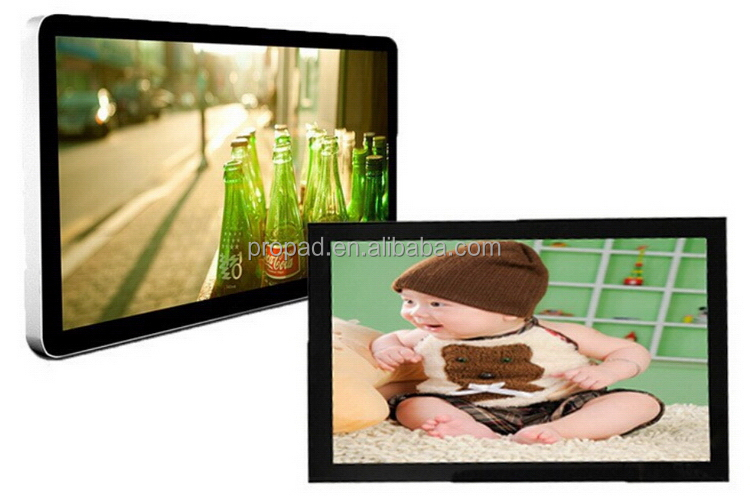 Restaurant full hd 1080p monitor lcd ads tv player