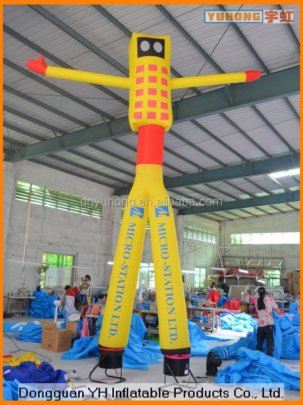 outdoor advertising inflatable flying tube promotion wave man