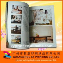 Home Furnishing Book Printing Service from China