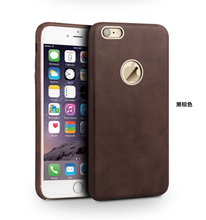 Popular genuine leather mobile phone case for iphone6/6s
