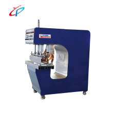 Electric plastic leather trademarks embossing jointing welding machine