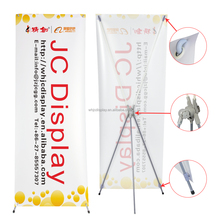 Promotion Adjustable Aluminum Trade Show Display X Banner Stand