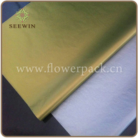 Gift Wrapping gold tissue paper
