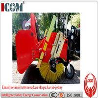 tractor mounted hydraulic road sweeper
