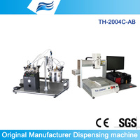 precision dispenser control system vison/epoxy adhesive dispensing system