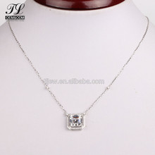 HOT products girls fantasy large replica fake diamond chain necklace