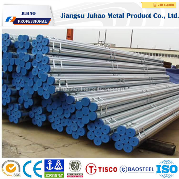 hot dip galvanized longitude welded erw carbon steel pipes/tubes!thin wall zinc coated steel pipe!gi steel