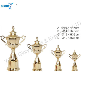High Quality Metal Cups, Plastic Parts, Assembled Trophy