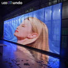 P24/40 Outdoor led Video curtain screen Full Color pixelflex led curtain Price Wall pack Pantalla Gigante Exterior