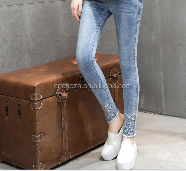 Z55433B maternity nice jeans for pregnant women