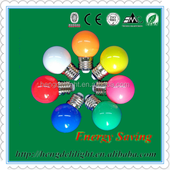 Colorful Outdoor night 0.5W 0.6W 0.7W light led