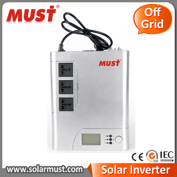 MUST Inverter 10A or 20A Charge Current Solar Energy inverter solar power system