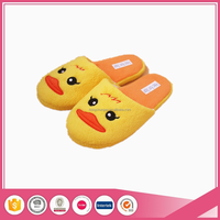 cute duck lady style warm indoor home slippers