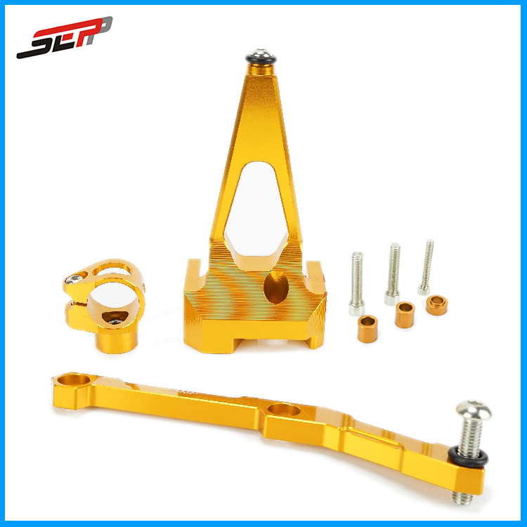 dirt bike racing Motorcycle modification parts steering damper bracket stabilizer for Yamaha MT-09 MT09 2013-2016