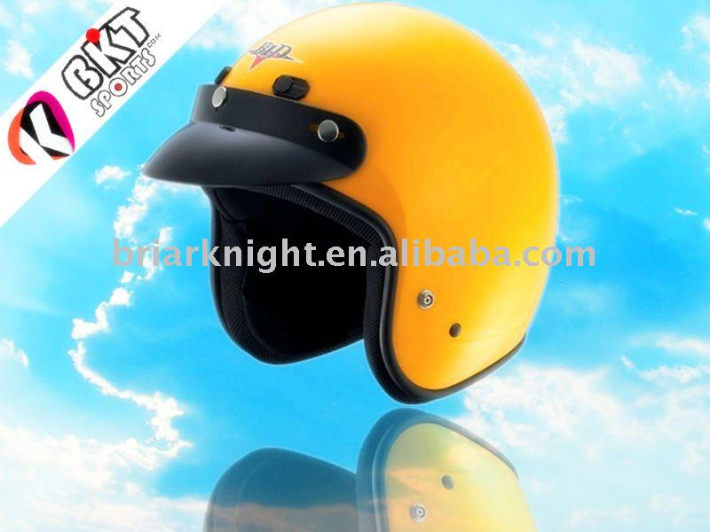 DOT motorcycle safety half-face helmet