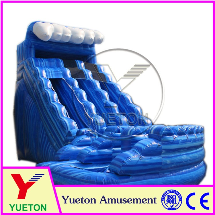 Zhengzhou Yueton New Product Inflatable Water Slide Hippo Inflatables