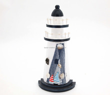 wooden lighthouse craft beacon model