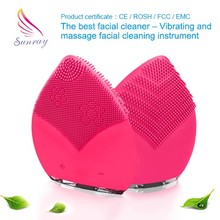 As seen on tv brush cleaner galvanic photon ultrasonic ion facial massage rotating facial massager