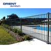 Powder Coated Aluminium swimming pool fence