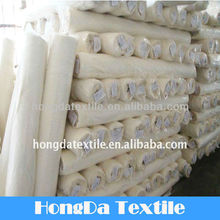 100% cotton woven sateen white fabric
