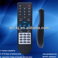 Universal satellite receiverremote control for LCD/LEDTV/DVD/DVR/Videoplayer