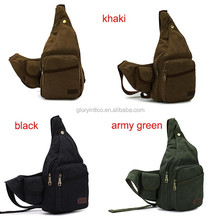 Men's Travel Hiking Messenger Shoulder Back Pack Sling Chest Bag
