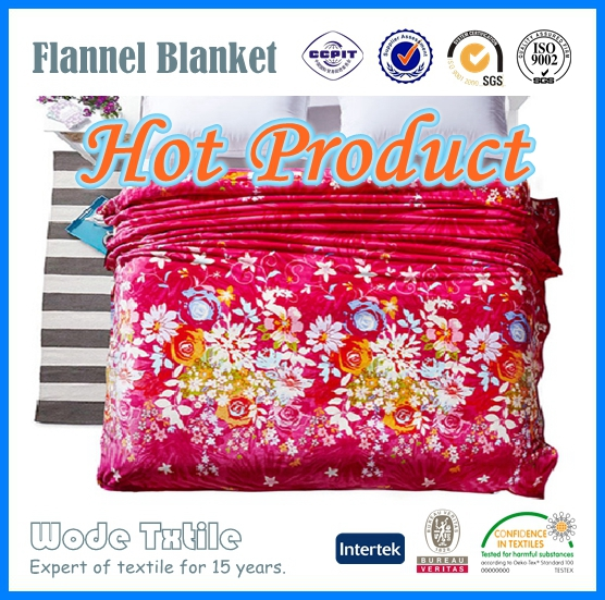 Cheap Fashionable Plain Print Coral Fleece/Faux Fur Blanket