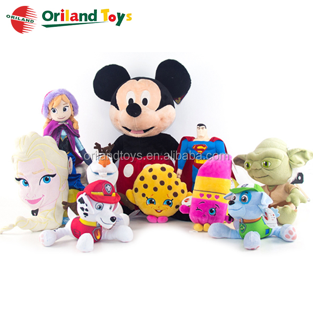 OEM stuffed custom plush love dolls soft animals toys made in China