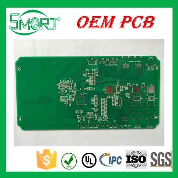 Smart Bes China LED street light Aluminium PCB with White Solder Mask Circuit Board