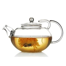 400ml/600ml Middle East Design Hot-Selling Pyrex Glass Commercial Tea Pot,Top QUality with Own Design