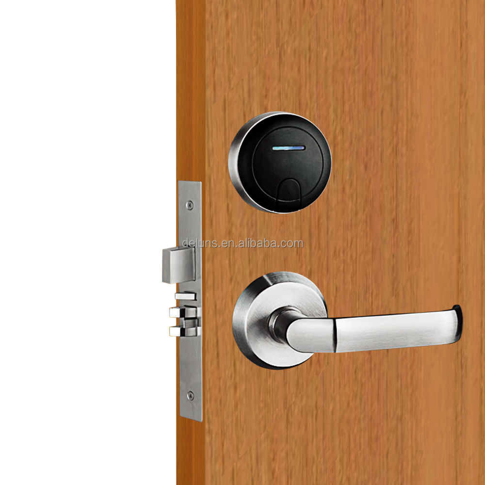 dls2000-v8 magnetic key card locks, hotel key door lock system