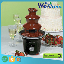 New Product 2016 Stainless Steel 3 Tiers Smart Chocolate Fondue Fountains Machine