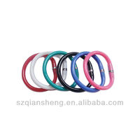 funny foldable bracelet ball pen,Bracelet color ring ball point pen