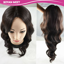 Wholesale 100% Hand Made full lace Brazilian Human Hair Wigs,