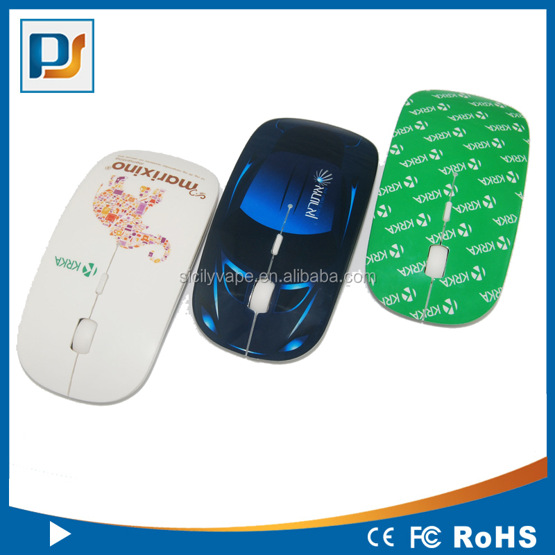 OEM 2.4G wireless mouse with factory price for xp vista 7 laptop PC