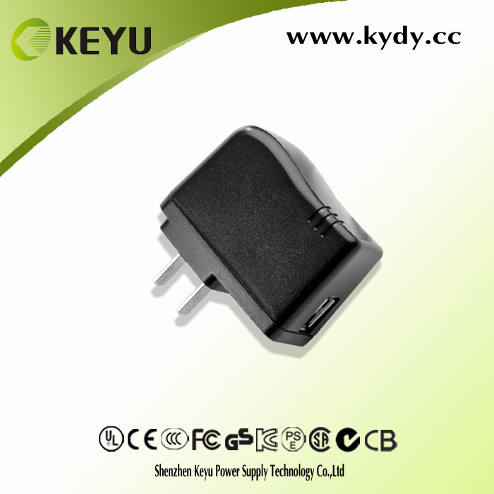 For Pad, Phone, Samsung Tab and Android Devices 5v 2.1a usb travel charger power adapter