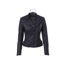 Classic fashion pu leather harley leather jacket factory price