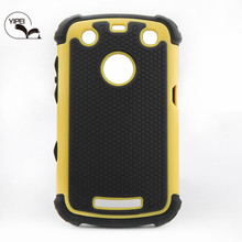 Cover Case For Blackberry 9360 with 3 in 1 Back Cover