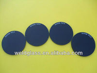 Round Shape Protective Glass Welding Filter lens