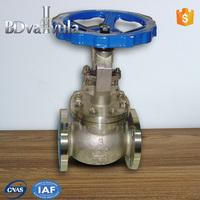 Big size API Standard water pump globe valve rising stem globe valve
